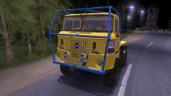 IFA W50 Truck Trial for Spin Tires