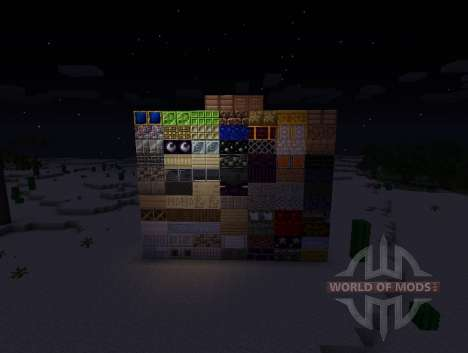 Chisel Mod - new blocks for Minecraft