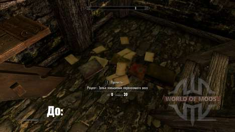 Unread books glow-highlighting unread books for Skyrim second screenshot