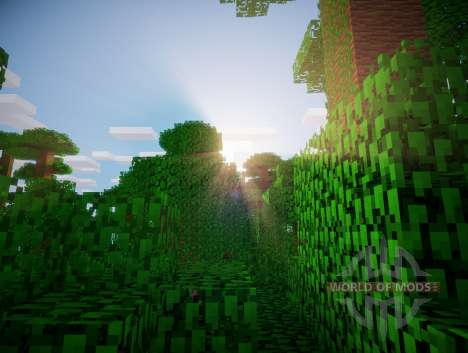 Chocapic V3 Ultra shader for Minecraft