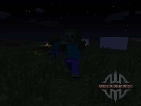Zombie Awareness-clever zombie for Minecraft