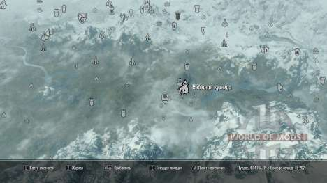 More map markers for Skyrim