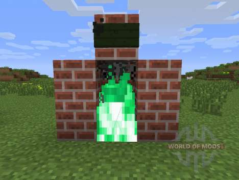 Floo mod for Minecraft