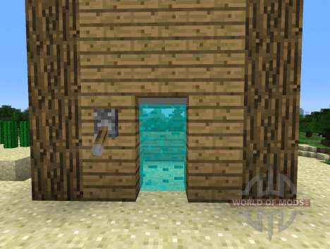 Light Bridges Mod - length doors for Minecraft