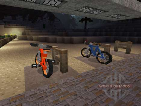PokeCycle Mod - bikes for Minecraft
