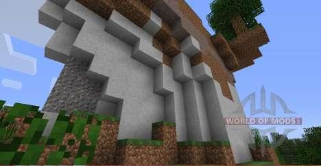 Underground biomes for Minecraft
