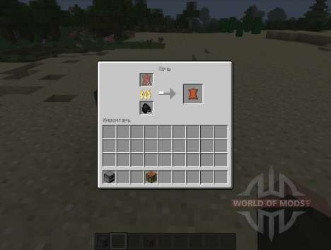 Yet Another Leather Smelting - rotten flesh for Minecraft