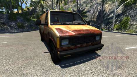 Gavril H-Series Rusty for BeamNG Drive