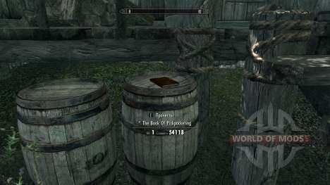 The book pumping skill pickpocketing for Skyrim second screenshot