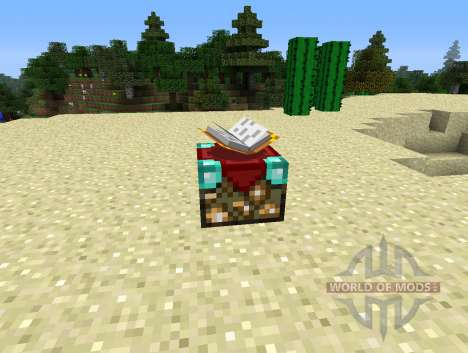 UnchantmentTable - table for the withdrawal of e for Minecraft