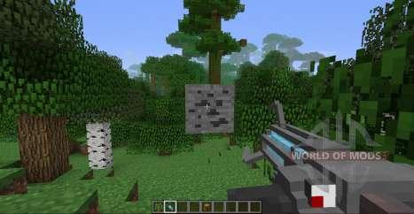 Gravity gun for Minecraft