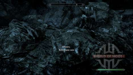 More noticeable ore for Skyrim