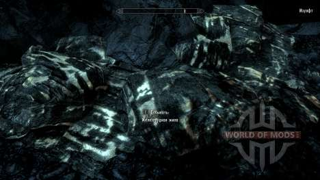 More noticeable ore for Skyrim second screenshot