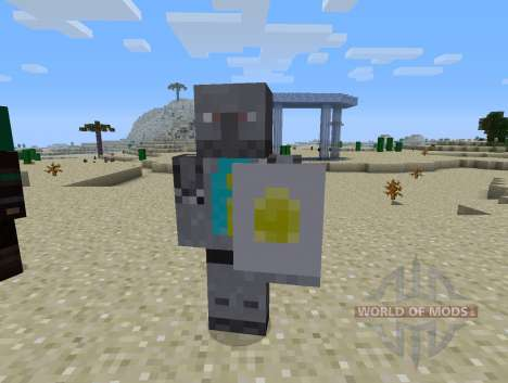 Guards Mod - knights for Minecraft