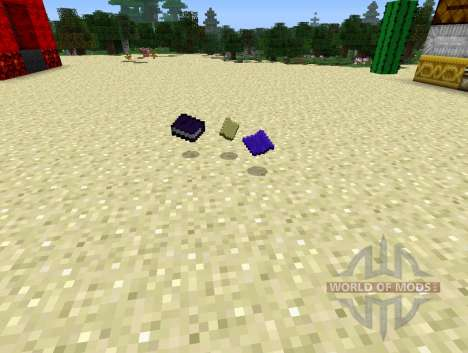 Warp Book - the book of teleportation for Minecraft