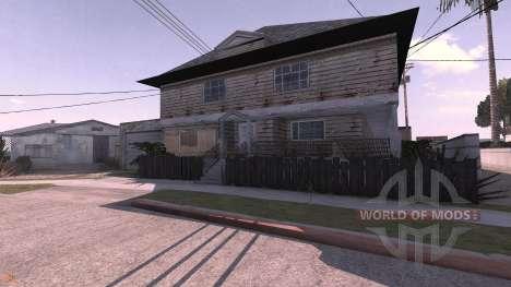 Grove Street v1.1 - map for BeamNG Drive