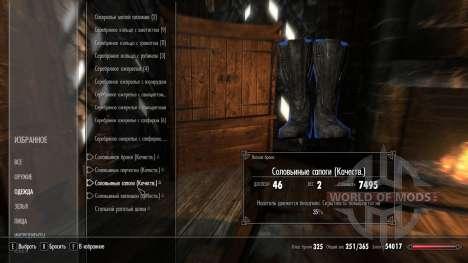Superior enchanting solovinoj armor for the fourth Skyrim screenshot