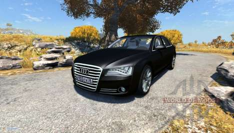 Audi A8L for BeamNG Drive