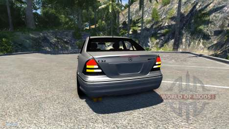 Mercedes-Benz C32 AMG for BeamNG Drive