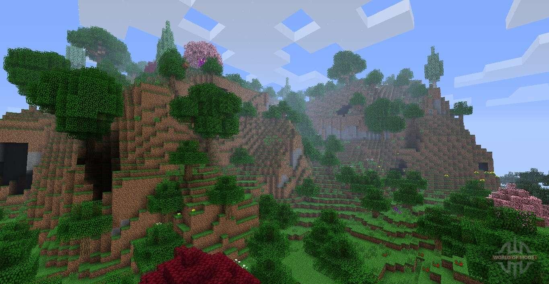 extra biomes xl mod 1.2.5