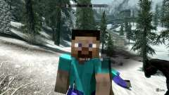 MinerFriends NPC from minecraft for Skyrim