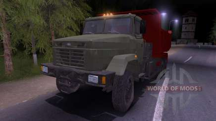 KrAZ-65055 for Spin Tires