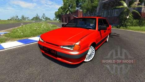 VAZ-2115 Lada Samara for BeamNG Drive