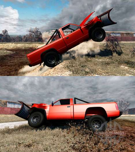 Gavril D-Series Snow Plow for BeamNG Drive