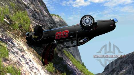 Bruckell Moonhawk The Fast and the Furious for BeamNG Drive