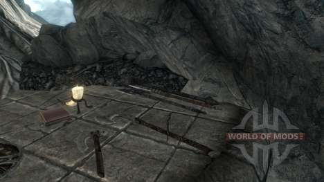 Not enchanted artifacts for Skyrim