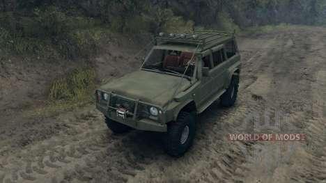 Nissan Patrol Y60 v2.0 for Spin Tires