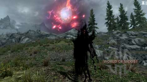 The staff of the spirit for the fourth Skyrim screenshot