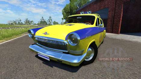 GAZ-21 Volga GAI for BeamNG Drive