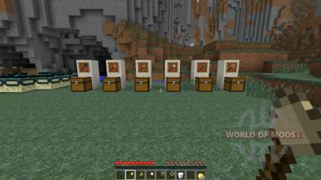 Magical staves for Minecraft