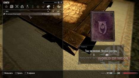 Eternal dead for Skyrim