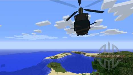 Helicopters for Minecraft