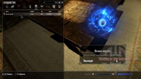 Eternal dead for the third Skyrim screenshot