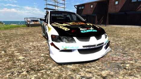 Mitsubishi Lancer Evolution VIII 2003 for BeamNG Drive