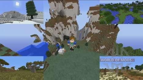 Superior biomes for Minecraft