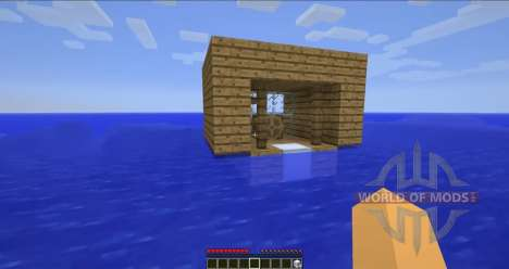 Floating ships for Minecraft