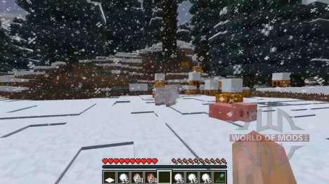 Deep snow for Minecraft