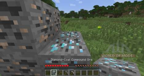 Dual ore veins for Minecraft