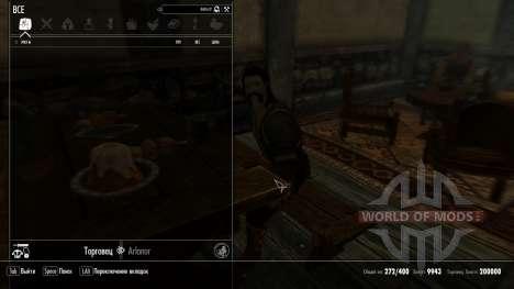 The rich dealer for Skyrim second screenshot