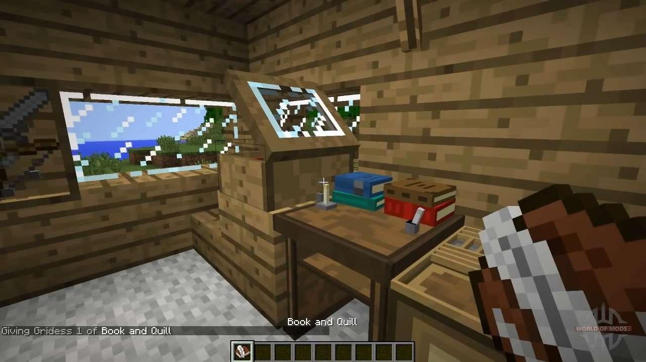 New Bookshelves For Minecraft
