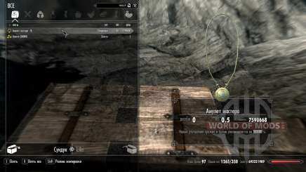 Amulet wizard for Skyrim