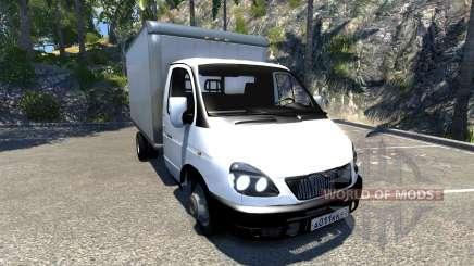GAZ-3302 Gazel for BeamNG Drive