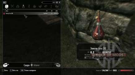 The elixir of God for Skyrim