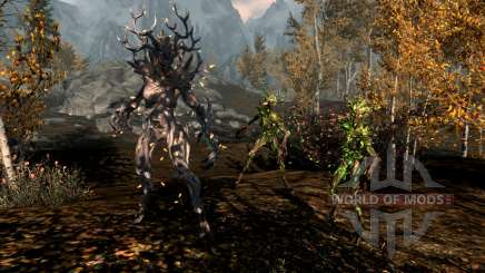 The magic of spriggan for Skyrim