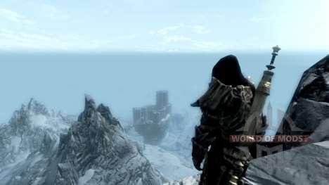 Wearing ancient scrolls for the third Skyrim screenshot