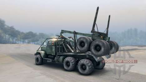 KrAZ-L for Spin Tires